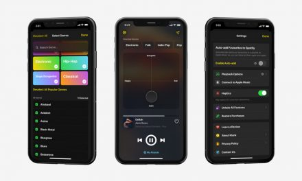 · A new way of discovering & listening to music on iOS.