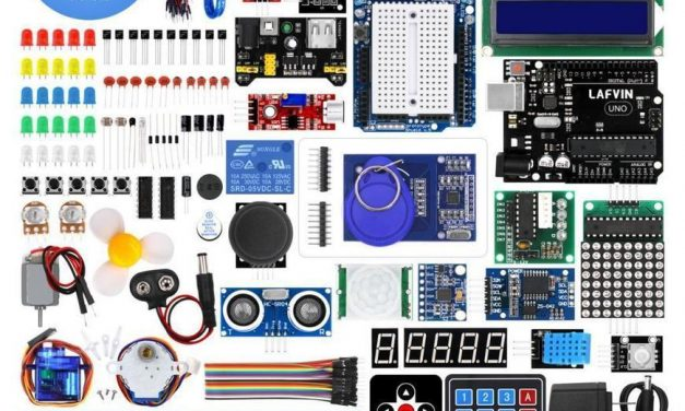 LAFVIN UNO R3 Project Complete Starter Kit with Tutorial for Arduino —