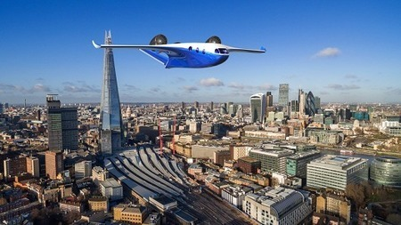 Starling Jet from Samad Aerospace: A hybrid-electric business jet with vertical take-off