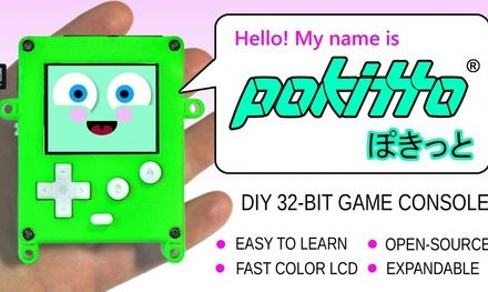 Pokitto – easy-to-learn and program Gaming Gadget!