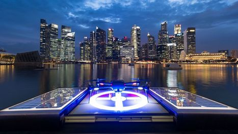The Internet of Drones Unveiled in Singapore
