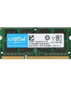 Micron Ram DDR3 RAM Laptop Computer RAM Memory 8GB 1600MHz Hi-Speed for PC Notebook (Crucial CT102464BF160B Equivalent)