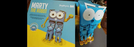 Marty the Educational Robot from Robotical