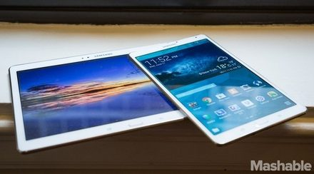 Hands On With the Samsung Galaxy Tab S